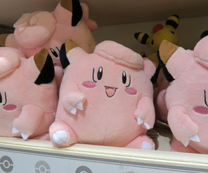 pink, plush, and pokemon image