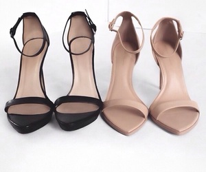 classy, simple, and heels image