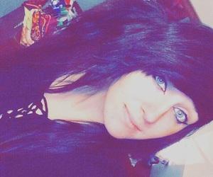 alternative, black hair, and emo image