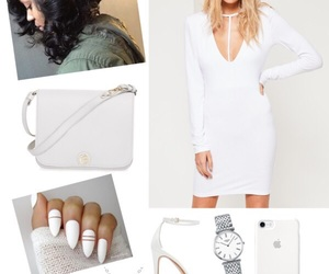 date, fashion, and white image
