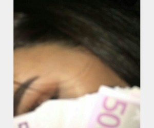 bae, makeup, and money image