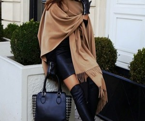 boots, chic, and fashion image
