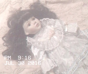 doll and vintage image