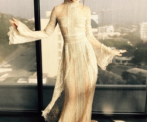 lily collins, dress, and style image
