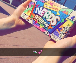 candy, lighting, and nerds image