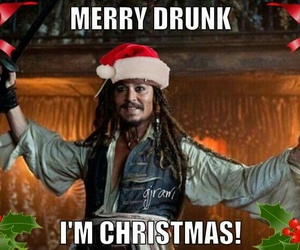 christmas, funny, and jack sparrow image