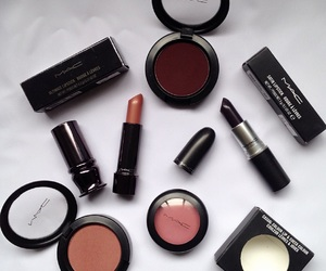 lips, lipstic, and mac image