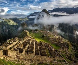 ancient, peru, and photography image