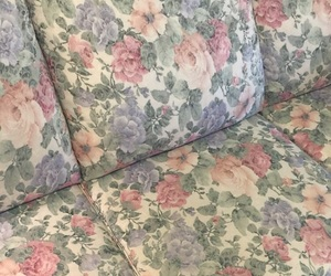 flower and sofa image