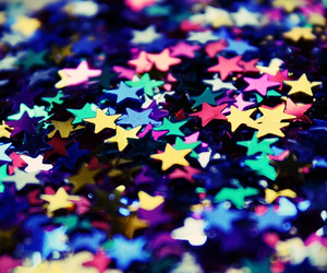stars, colors, and glitter image
