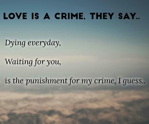 alone, couple, and crime image