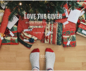 gift, give, and giving image