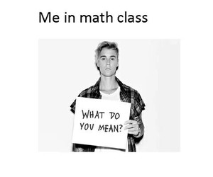 funny, math, and justin bieber image
