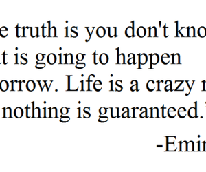 eminem, quote, and life image