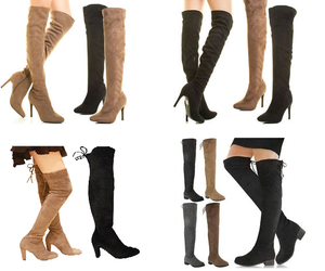 thigh high boots image