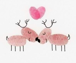 love, heart, and christmas image