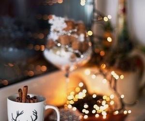 chocolate, christmas, and night image