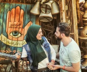 arabic, couples, and egypt image