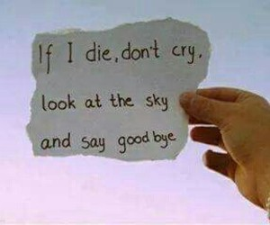 beautiful, sky, and cry image