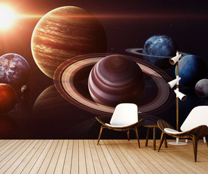 3d, galaxy, and home decor image