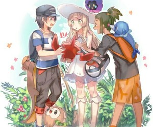lillie, pokemon, and sun image