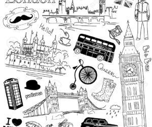 london, vintage, and Big Ben image