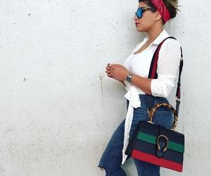 bag, fashion, and model image