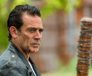 LUCILLE, the walking dead, and negan image