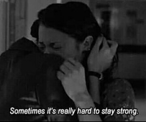 sad, strong, and quotes image