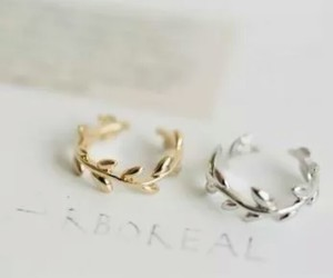 beauty, rings, and fashion image