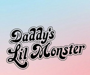 wallpaper, suicide squad, and daddy's lil monster image
