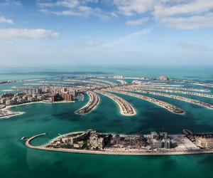 city, Dubai, and outside image