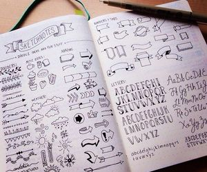 doodle, draw, and drawing image