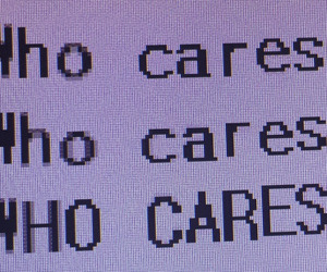 care, who cares, and quotes image