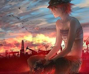 anime, manga, and fisheye placebo image