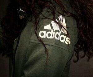 adidas, green, and grunge image
