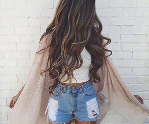 fashion, hair, and linda image