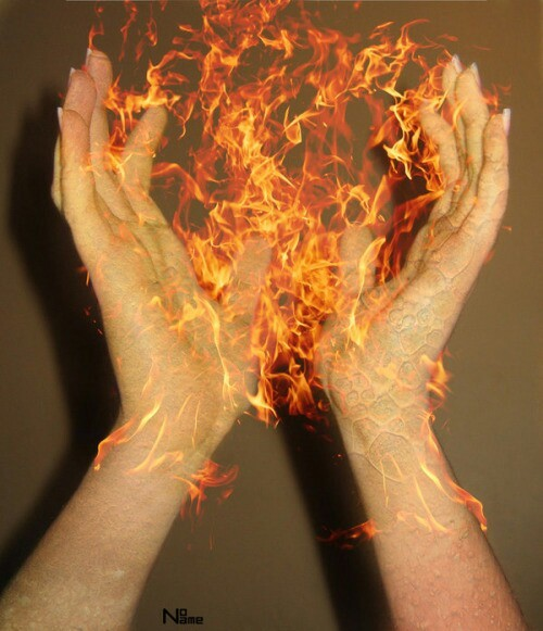 fire, aesthetic, and grunge image