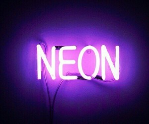 neon, light, and purple image
