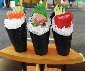 food, japanese, and market image