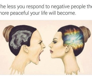 anger, negative, and peace image