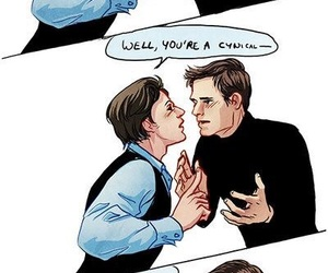 charles, cherik, and comic image