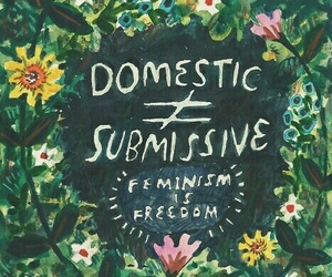 domestic, feminism, and freedom image