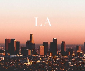 city, los angeles, and la image