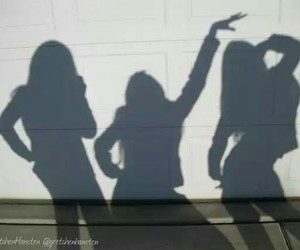 girls, young, and friends image