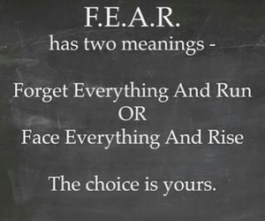 fear, quote, and tumblr image