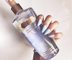 nails, Victoria's Secret, and perfume image
