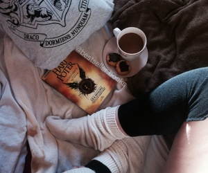 Cookies, cozy, and harry potter image