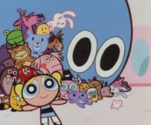 bubbles, powerpuff girls, and cartoon image