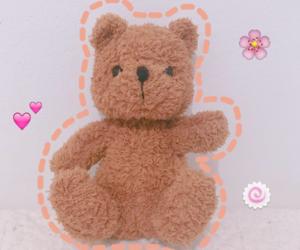 bear, girly, and kawaii image